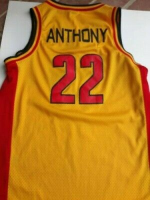5fef1474397e Jordan TAG 2002 Oak Hill Academy Carmelo Anthony Stitched Jersey Adult  Medium