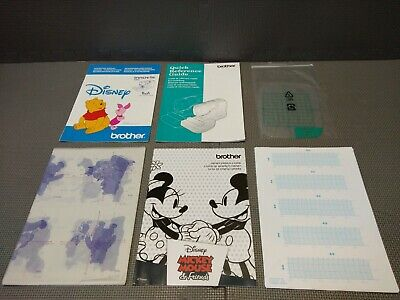 Brother Innov-IS 500D Sewing Machine Original Owners Instruction Manual Disney
