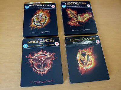 The Hunger Games / Mockingjay - The Complete Collection 1-4 Steelbook (Blu-ray)