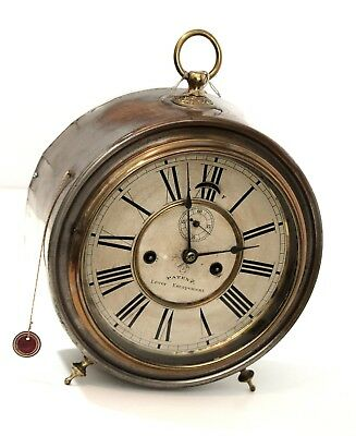 """Great clock of eight days, made by """"Lever Ansonia Clock Company"""""""