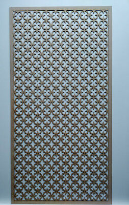 Radiator Cabinet Decorative Screening Perforated 3mm & 6mm thick MDF laser cutE2