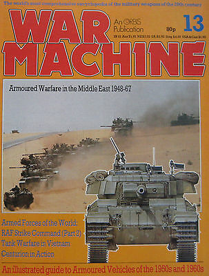 War Machine magazine Issue 13 Armoured Vehicles of the 1950s and 1960s
