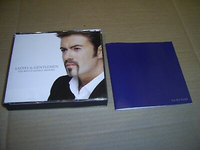 George Michael - Ladies & Gentlemen: The Best Of - Epic 1998 Double Cd 'Fatbox'