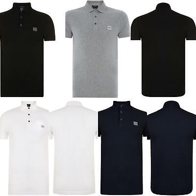 Men Hugo Boss Casual Logo Polo Shirt Bnwt-Slim Fit
