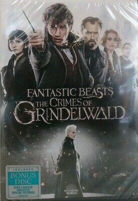 Fantastic Beasts: The Crimes of Grindelwald (DVD, 2019) Free Shipping