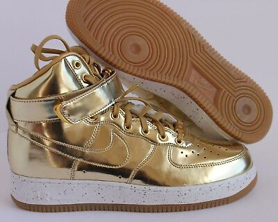f8fccb0c2e790d NIKE AIR FORCE 1 Liquid Metal Pack Gold Tier 0 Undftd Size 10.5 ...