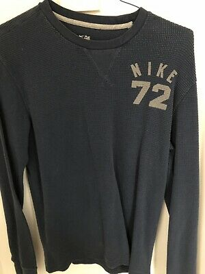 adebe435 NIKE LONG SLEEVE Thermal Hoodie 868323-091 Carbon Heather Size 2XLT ...