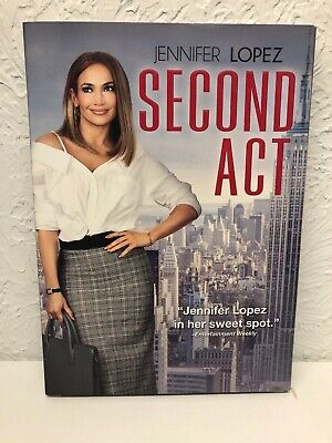 Second Act DVD 2019 Jennifer Lopez, Brand New, Beware of Cheap Fakes Sold!!