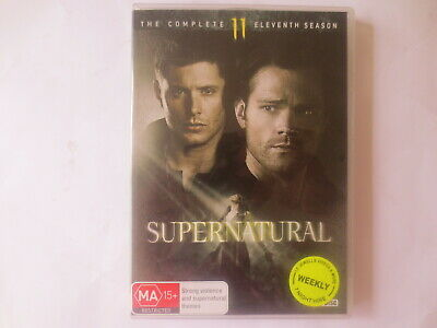 Supernatural The Complete Eleventh Season 11 DVD 6-Disc Set R4 #6806