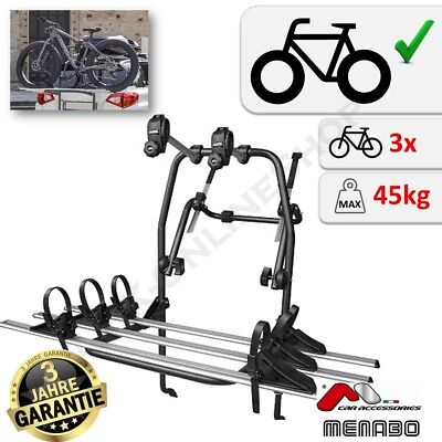 Ford KA 1996-2017 3 Cycle Carrier Rear Tailgate Boot Bike Rack Bicycle
