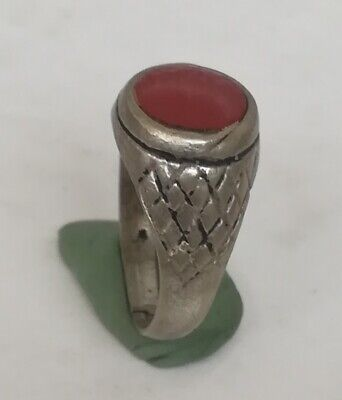 Ancient Silver Ring Viking Vintage Artifact Beautiful