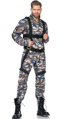 Womens Men's Military Combat Stud Costume, Sexy Mens Army Costumes