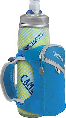 Camelbak Quick Grip Chill Bottle, Atomic Blue/Silver (1040402900)