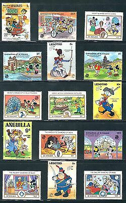 Disney -  Selection of MNH Disney Stamps..............A - 19 A 09