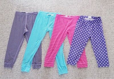 Hanna Andersson bottoms Opposite Stripe / Cropped Leggings Lot Size 110 120
