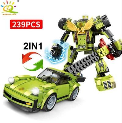 293pcs Racing Car Model Building Blocks with Cars with Figures Toys Bricks
