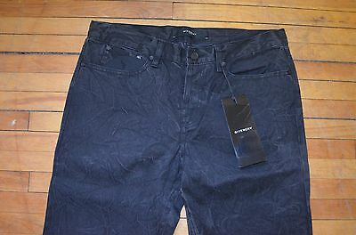 Givenchy Slim Fit Black Indigo Dye Denim With Wrinkled Effect Jeans S 30 Rare