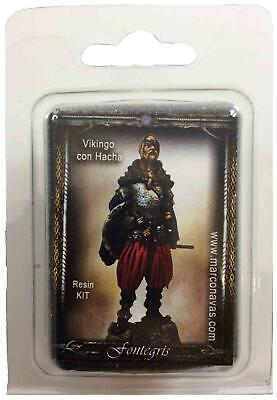 Fontegris Historical Mini 54mm Viking w/Axe Pack MINT