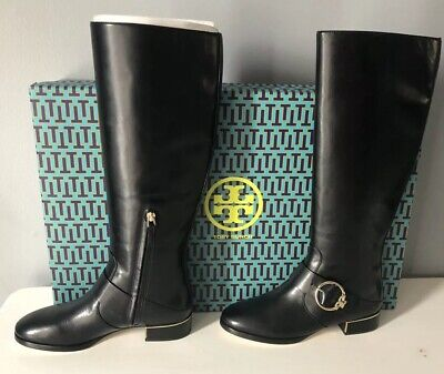e99a25514fae NIB Tory Burch Women s Sofia Tall Riding Boots Black Size 7. Priority  Shipping.