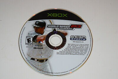 World Series Baseball 2K3 Microsoft Xbox Video Game Disc Only