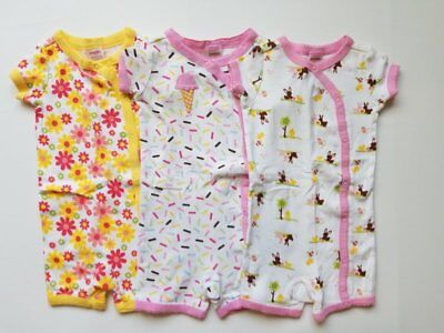 6fe59ca6d Girls Baby Gap Pink Cat Kitty 2 Piece Snug Fit Pajamas Pjs 12 18. $17.95  Buy It Now 25d 15h. See Details. Girls Gymboree Gymmies One Piece Pajamas  Snap Lot ...