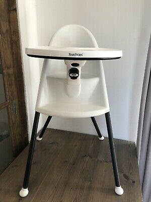Baby Bjorn High Chair White And Black