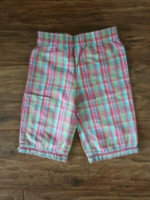 CQ Girl's Pink & Turquoise Striped Trousers (Aged 2 - 3 Years) - V G Condition