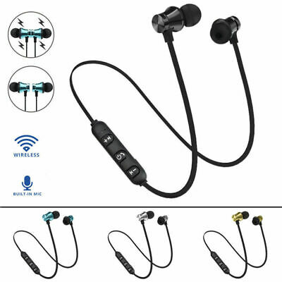 Bluetooth 4.2 Earphone Magnetic Wireless Headphones Sport Stereo Headset Earbuds