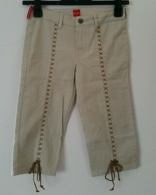 P. Miller Shorties girl's shorts cropped trousers 14 years beige New