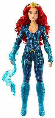 Aquaman Mera Doll Kids Barbie Action Figures Toy Girl Character Mattel Fashion