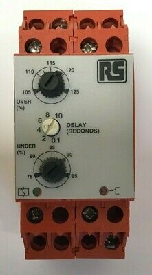 Rs 184-5832  Broyce Control Over+Under Phase/Sequence Failure Relay (821)