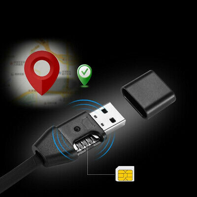 Gps Tracker Usb Cable Car Locator Time Real Micro Vehicle Tracking Gprs Charging