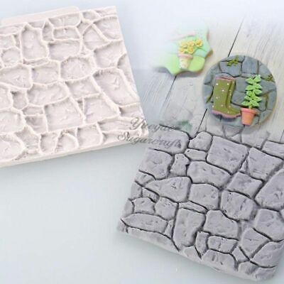 Wall Silicone Stone Tile Mold Decor Background Brick Molds Concrete Form Garden