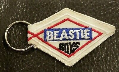 2004 Beastie Boys TO THE 5 BOROUGHS Concert Cloth Patch Keychain