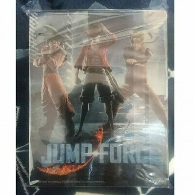 JUMP FORCE Steelbook Steel book case No Game PS4 Japan Limited Luffy Naruto