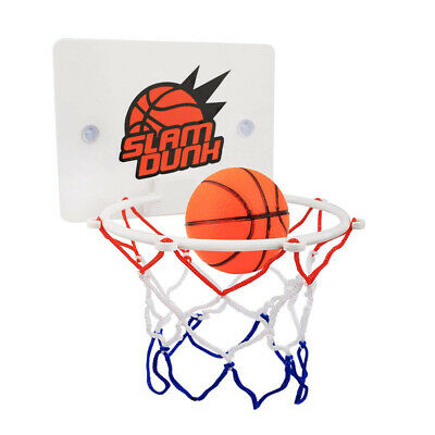 Kids Children Indoor Mini Basketball Hoop Ring Toys Wall-Mounted w/ Pump Toy Set