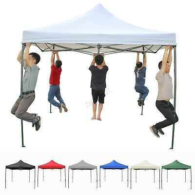 FoxHunter Heavy Duty Pop Up Gazebo 3Mx3M Marquee Garden Party Tent Canopy PUG03