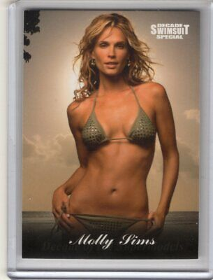 2012 Sports Illustrated swimsuit card Decade Special #51 MOLLY SIMS