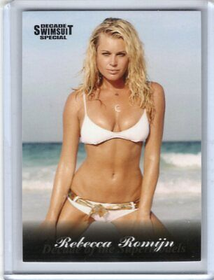 2012 Sports Illustrated swimsuit card Decade Special #60 REBECCA ROMIJN