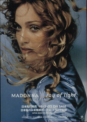 Madonna Ray Of Light - Pair Of Flyers handbill Japanese promo