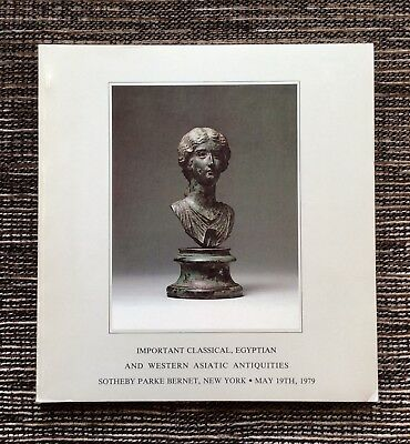 RARE 1979 Sotheby's Auction Catalog: Egyptian and Western Asiatic Antiquities