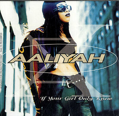 "Aaliyah If Your Girl Only Knew USA CD single (CD5 / 5"") promo PRCD6816-2"