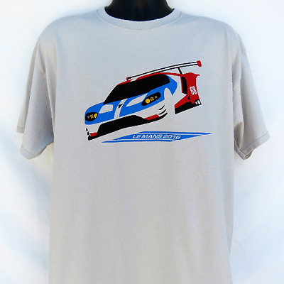 2016 FORD GT Le Mans 24 Hours GTE-Pro class race winner T-shirt GT-40 RACING