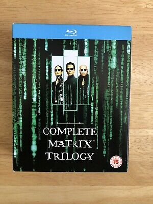 THE COMPLETE MATRIX TRILOGY on Blu-Ray (3 Discs) Matrix, Reloaded & Revolutions