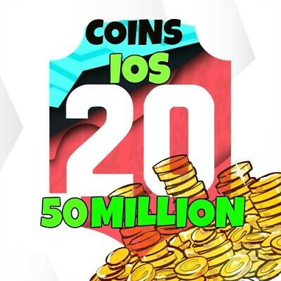 Pacybits Fut 20 -  50 Million Coins -  Ios Fast Delivery Safe !!!!