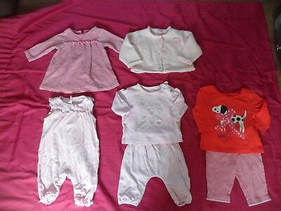 Baby Girls Clothes  Bundle 3-6 months Cardigan Dress Outfits All From Next
