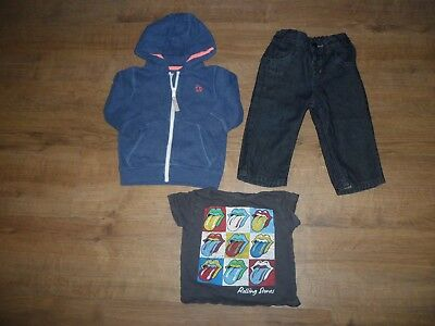 Boys Clothes  Bundle 9-12 months Hooded Top Jeans T-Shirt All From Next