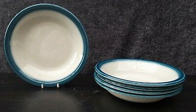 """Wedgwood Blue Pacific Soup/Cereal/Dessert Bowls 7¼""""  X 5"""
