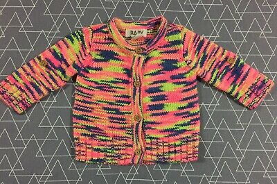 Cotton On Baby Girls Cardigan Size 0-3 Months 000