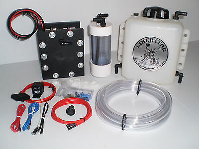 HYDROGEN   HHO BUILD IT YOURSELF 11 PLATE MAXIMUS DRY CELL COMPLETE STARTER KIT